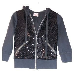 Juicy Couture Sequin Hoodie